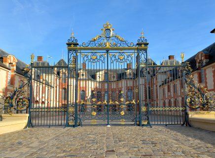 Cour d'honneur du château de Grosbois