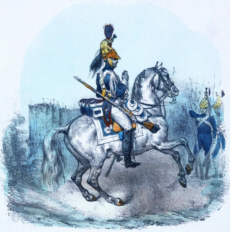 Ecole de cavalerie de Saint-Germain-en-Laye, Compagnie d'élite (1809-1814)