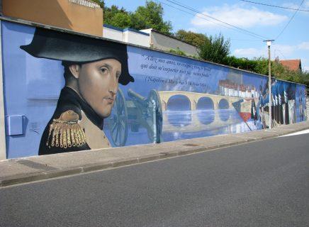 Fresque_Napoleon-Montereau Fault Yonne