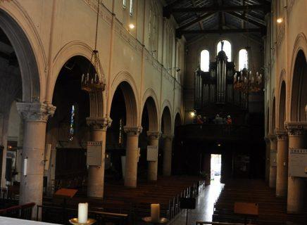 Intérieur église Saint Leu Saint Gilles