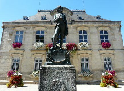Statue Bonaparte © Adeline LOISON – Office de Tourisme de Brienne-le-Château