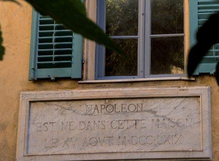 Détail de la facade de la Maison Bonaparte-mb-ajaccio
