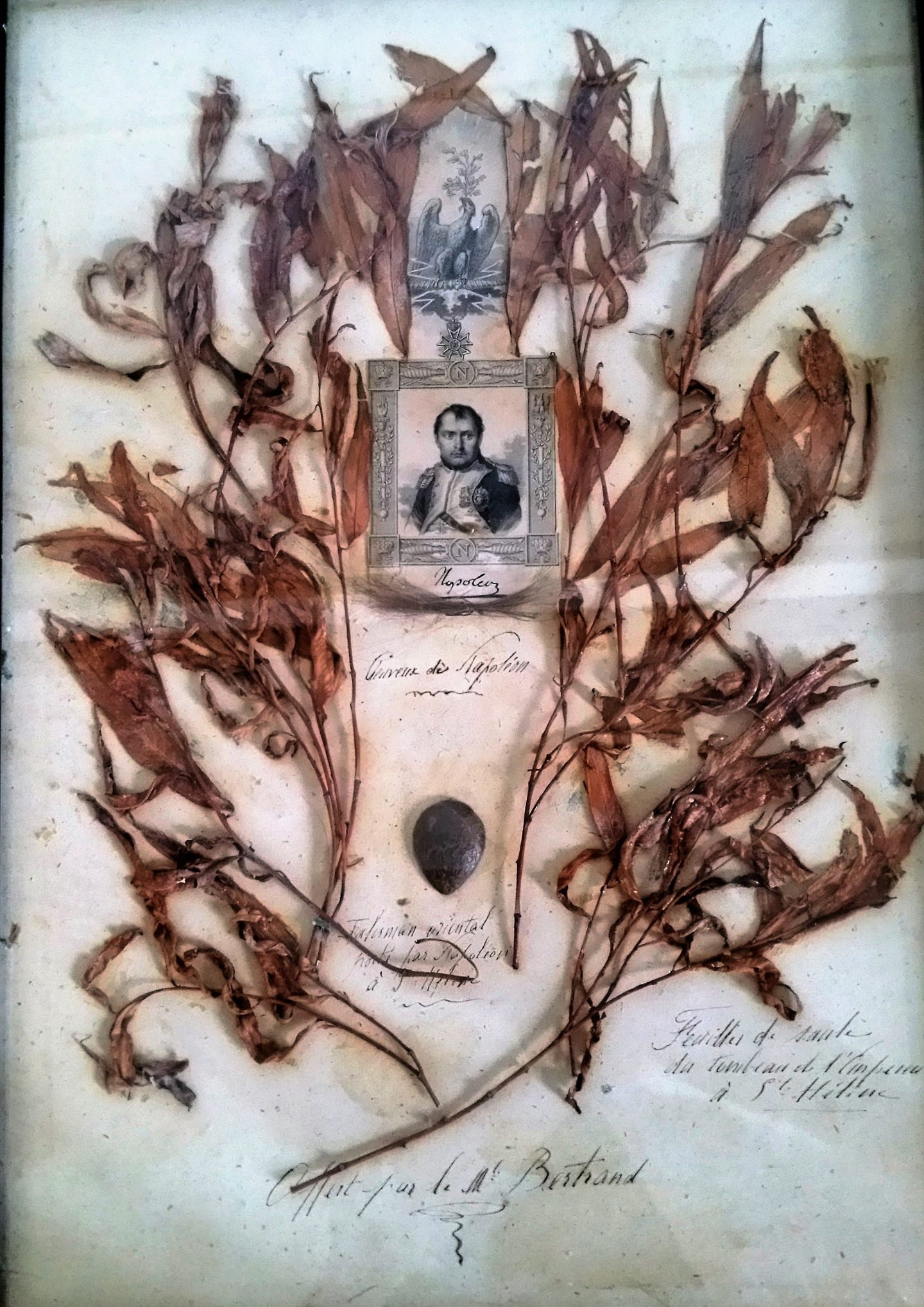 Le reliquaire de Napoléon-maisonslaffitte-napoleon