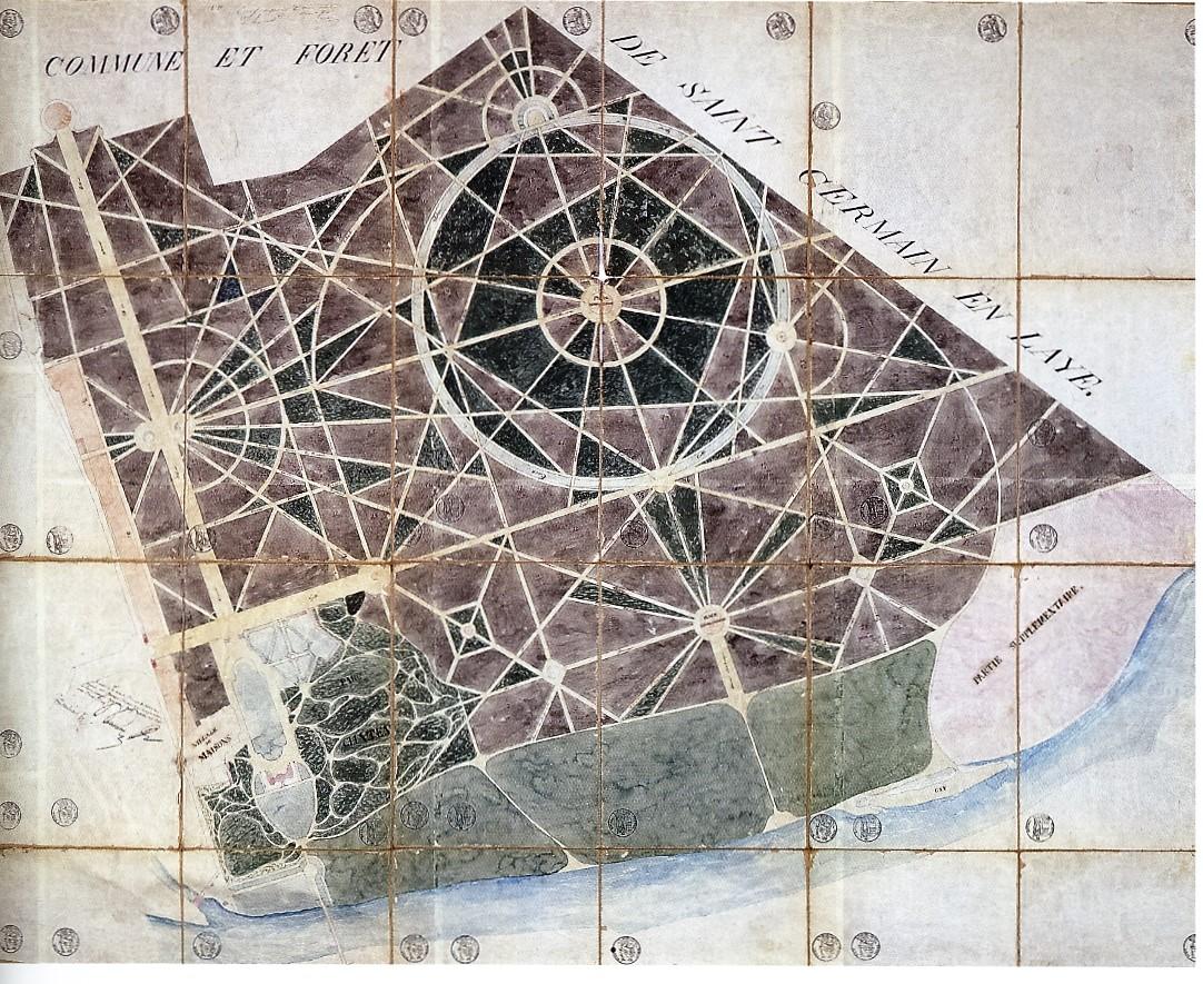 Page 2, paragraphe 2 Plan du Parc, 1833