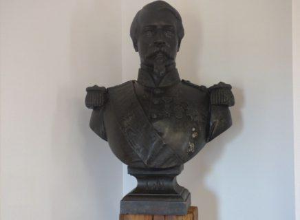 Ville de Lamotte-beuvron – Buste Napoleon III