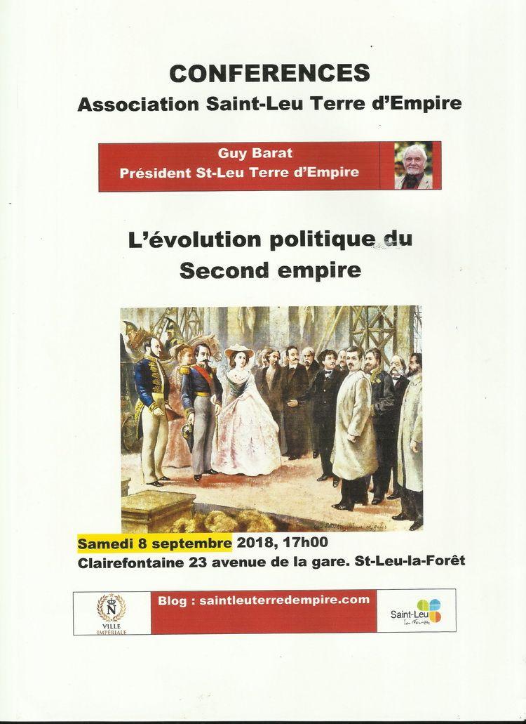 Conférence Saint Leu La Forêt