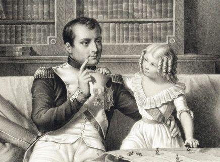Napoléon et son fils