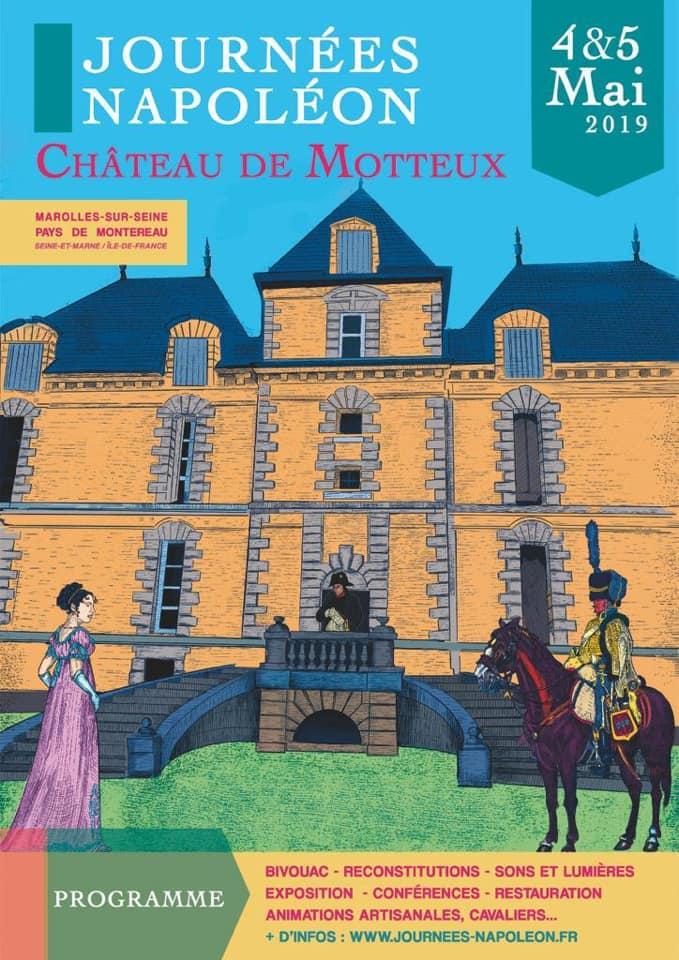 Journées napoléon – Château de Motteux