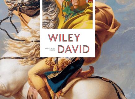 Affiche officiel expo WileyXDavid à Malmaison