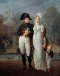 Napoléon 1er et Marie-Louise d'Autriche