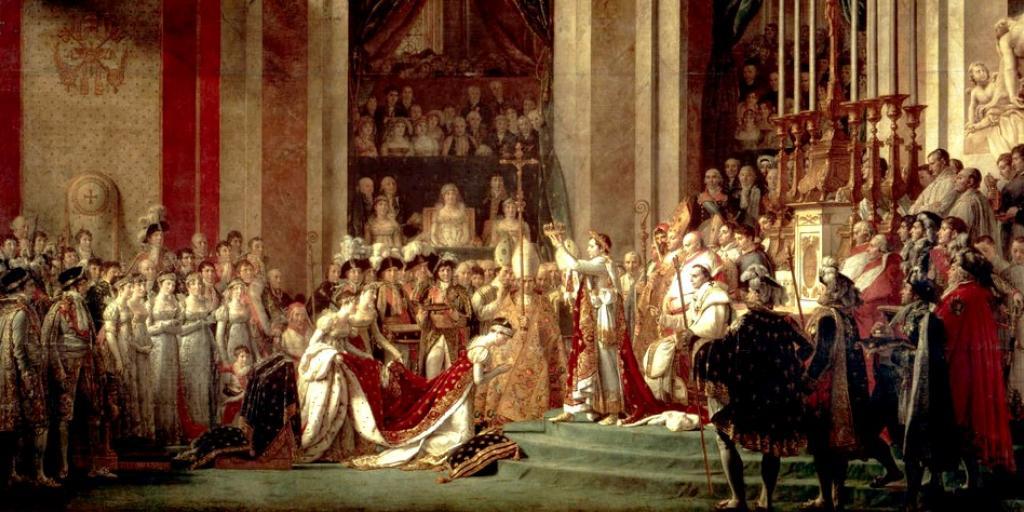 Sacre de Napoléon Bonaparte