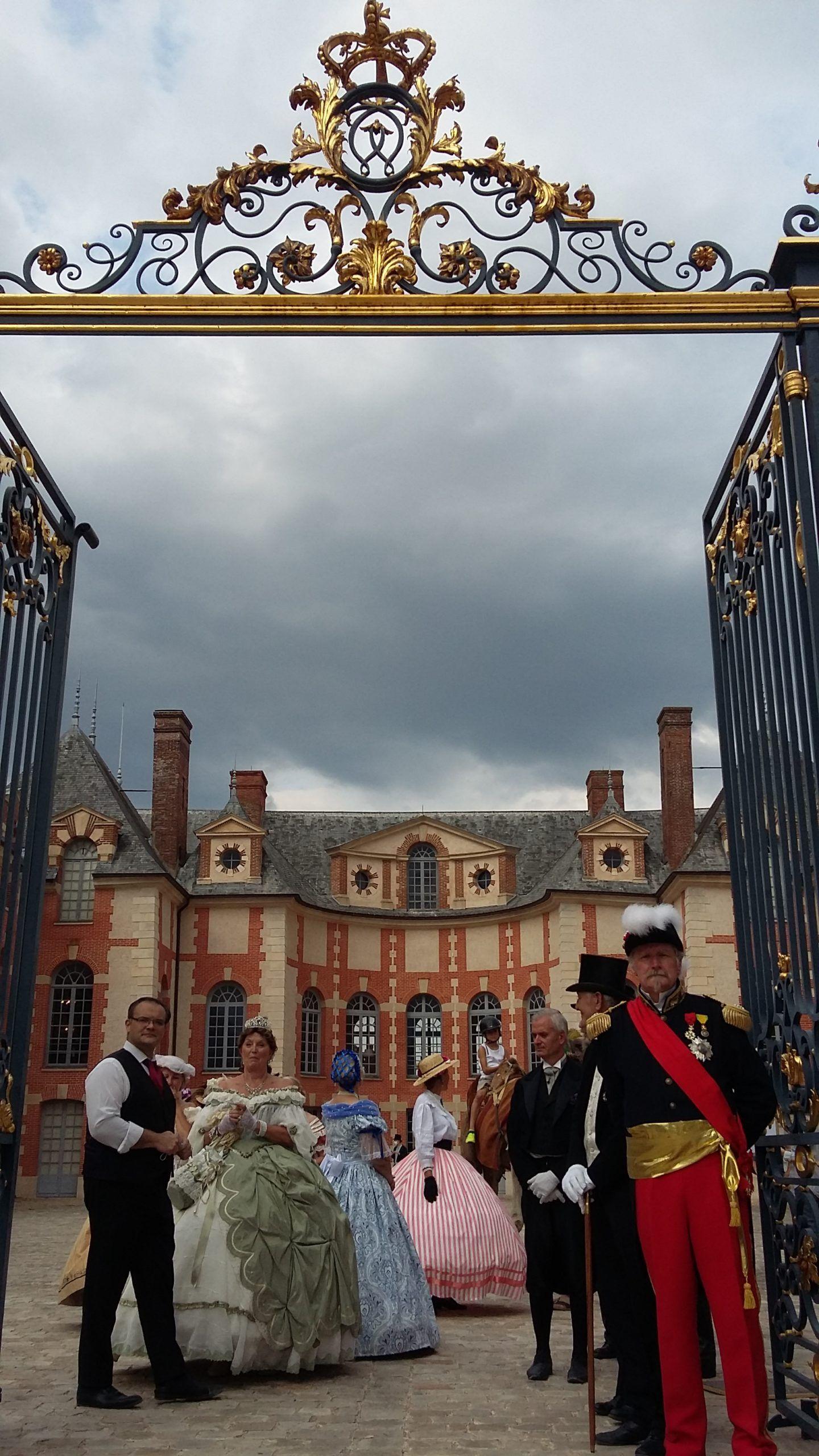 Fêtes impériales à Grosbois