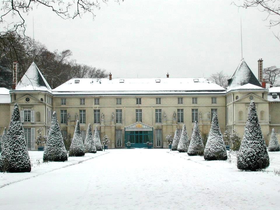 Château sous neige